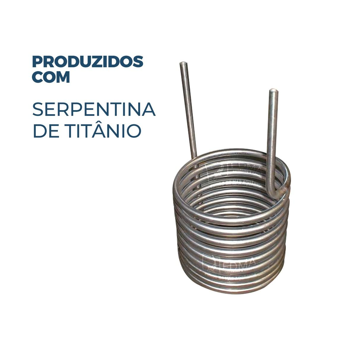 Resfriador para Aquários Chiller Refripampa 1/8 Hp Rf350 P/ 300L