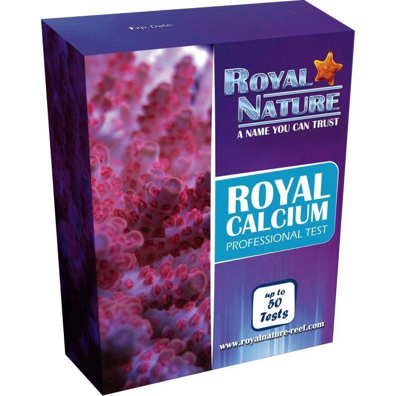 Royal Nature Teste Cálcio 50 Testes Marinho