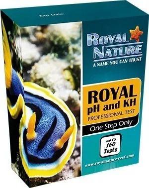 Royal Nature Teste Ph/Kh 150 Testes Marinho