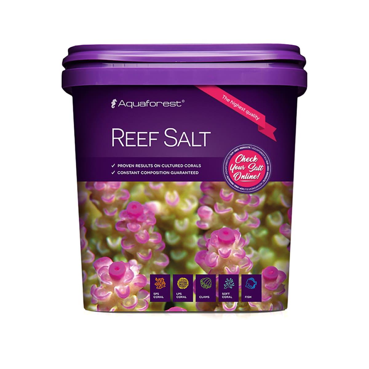 Sal Marinho Aquaforest Reef Salt 10kg Especial para Corais