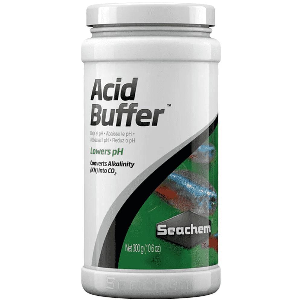 Acidificante Seachem Acid Buffer 300g Reduz o pH em Aquários