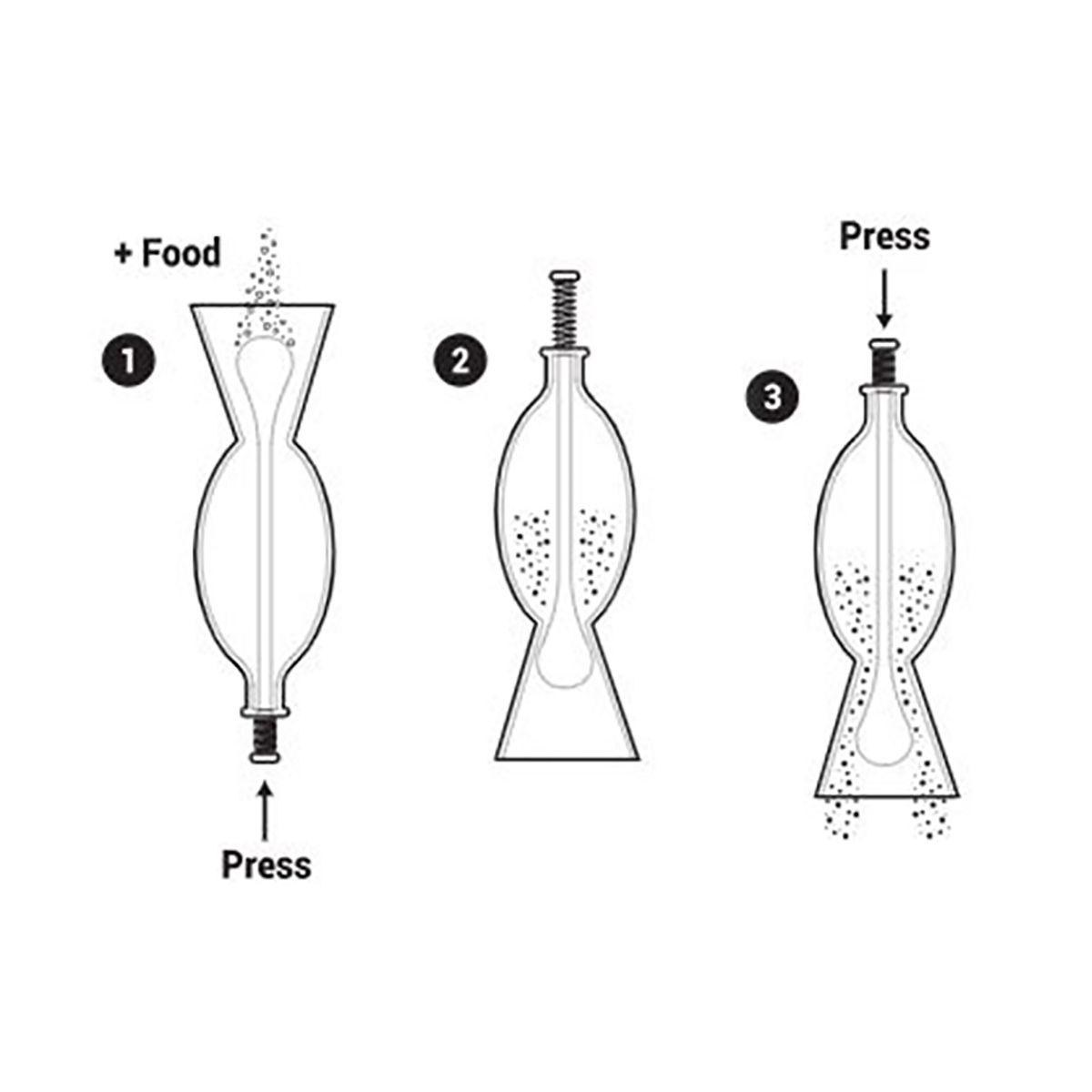 Seachem Alimentador de Vidro 40mm para Aquários