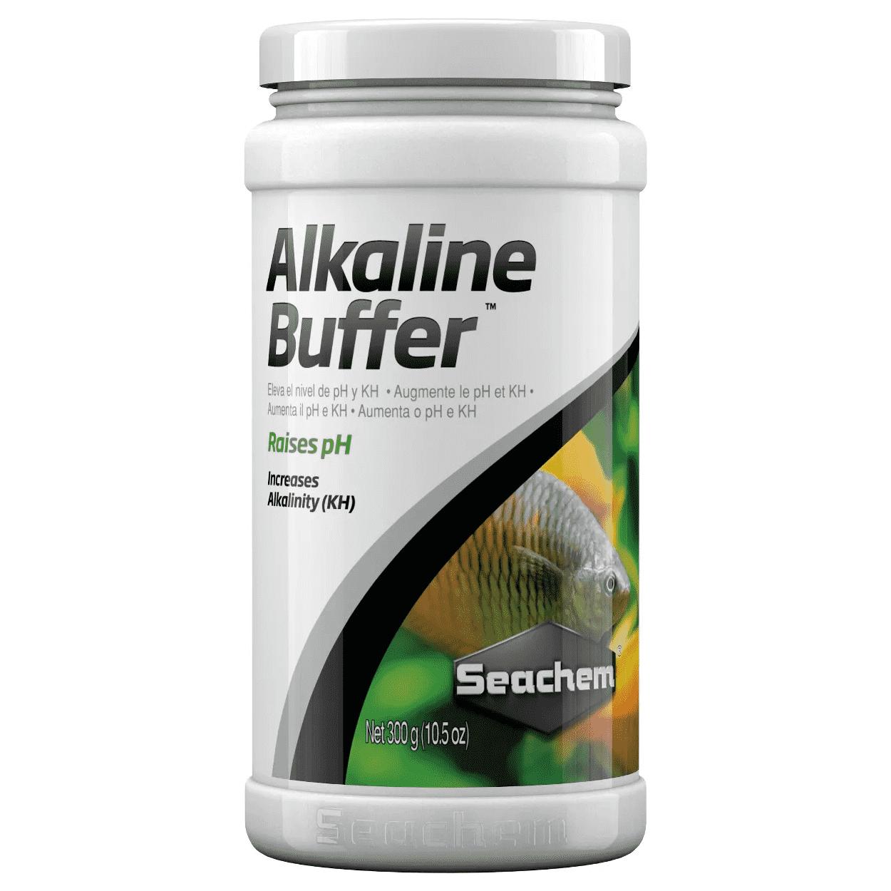 Alcalinizante Seachem Alkaline Buffer 300g Aumenta o pH e KH