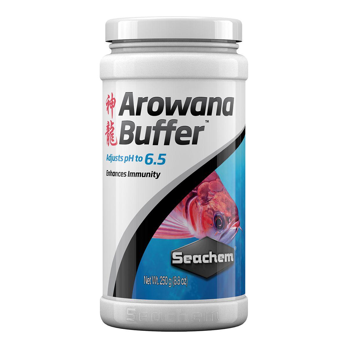Seachem Arowana Buffer 250ml Prepara o Ambiente para Aruanã