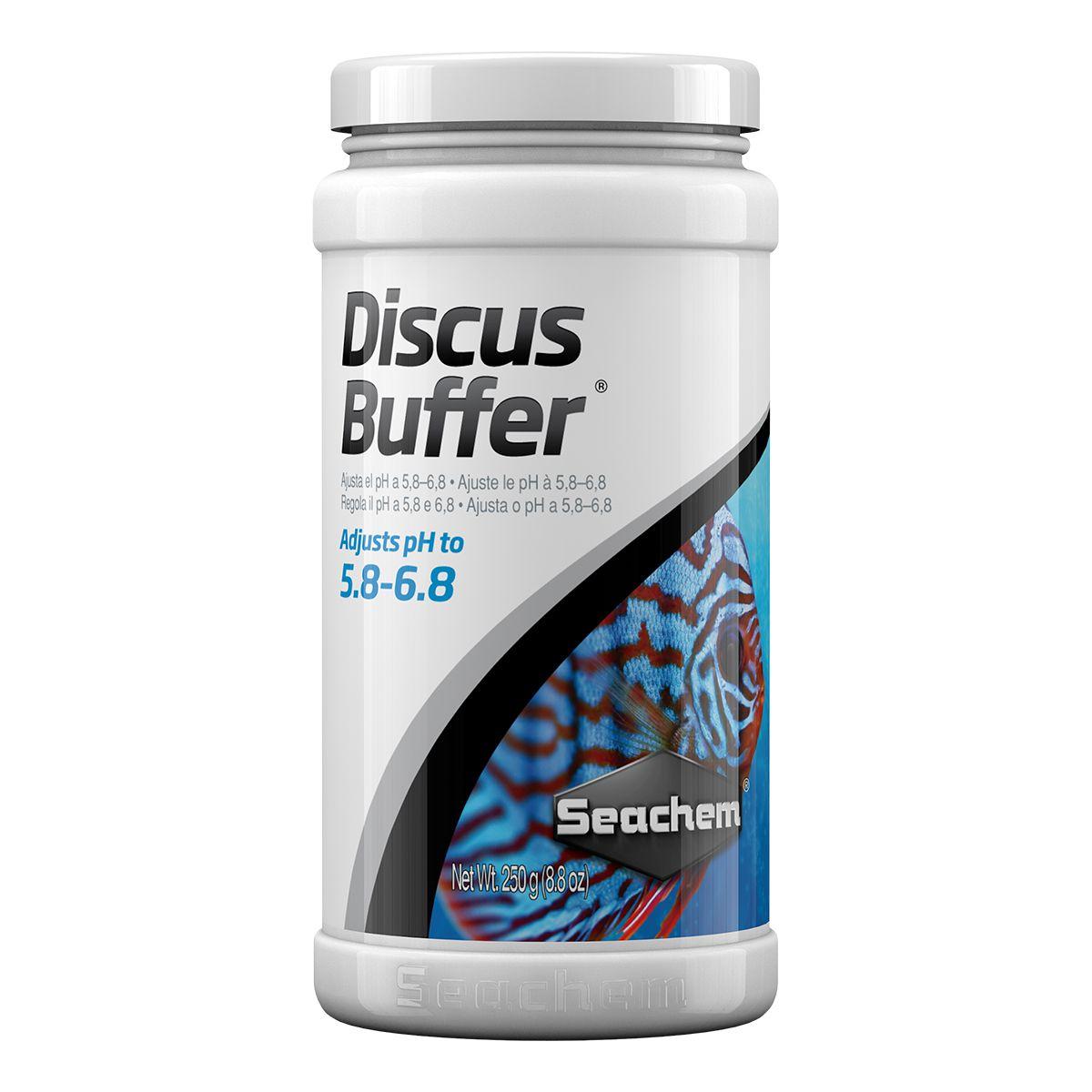 Seachem Discus Buffer 250g Mantém o pH Ácido de 5.8 a 6.8