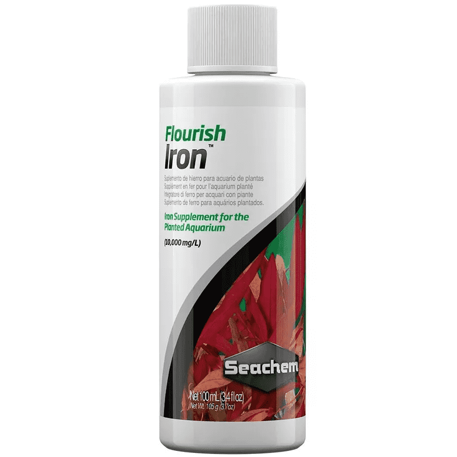 Seachem Flourish Iron 100ml Suplemento Fe2+ para Plantados