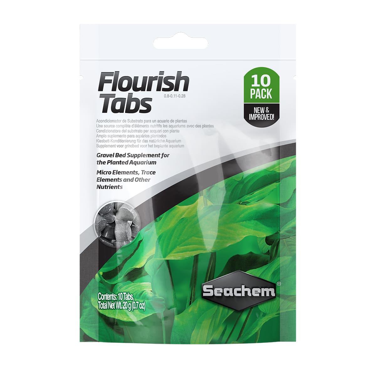 Seachem Flourish Tabs Fertilizante p Plantados 10 Pastilhas