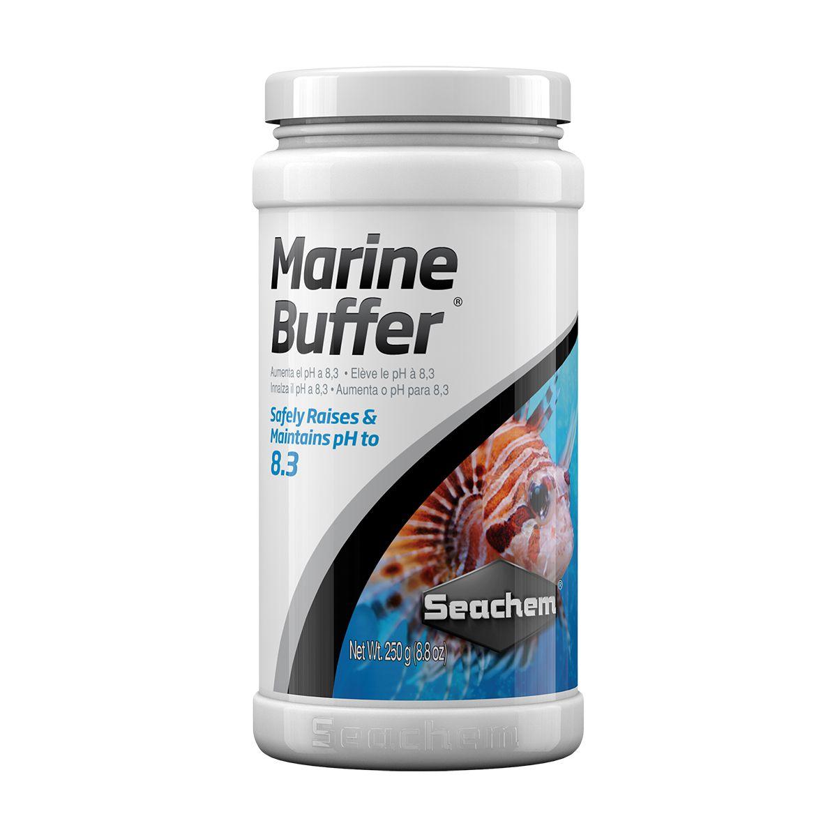 Seachem Marine Buffer 250g Regula e Mantém o pH Marinho 8,3