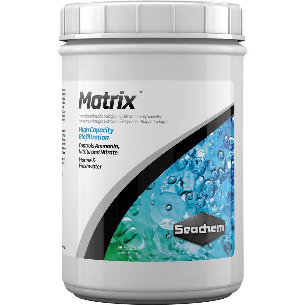 Mídia Biológica SEACHEM MATRIX 2 LITROS
