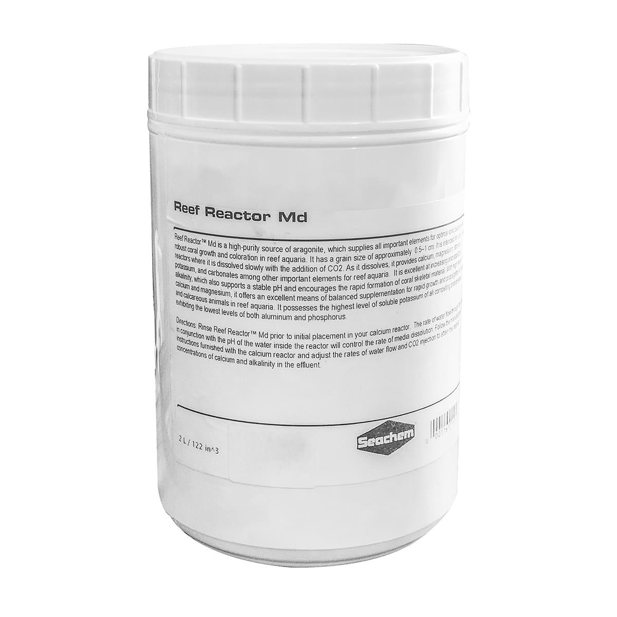 Seachem Reef Reactor MD 2L Mídia para Reator de Cálcio