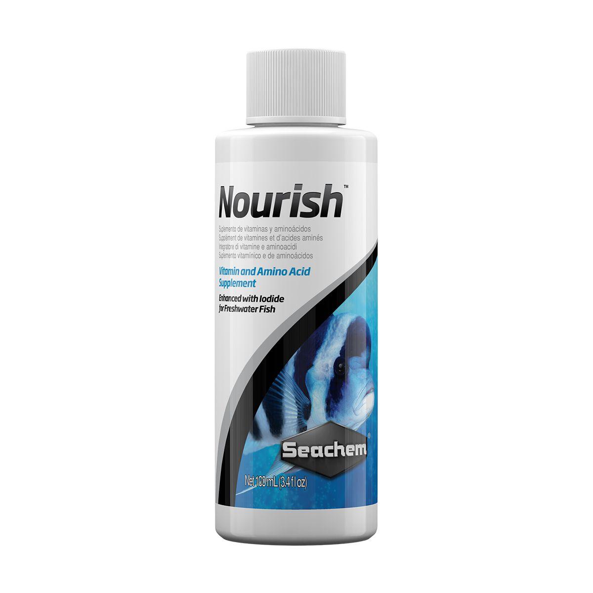 Vitamina para Peixes SEACHEM NOURISH 100ML
