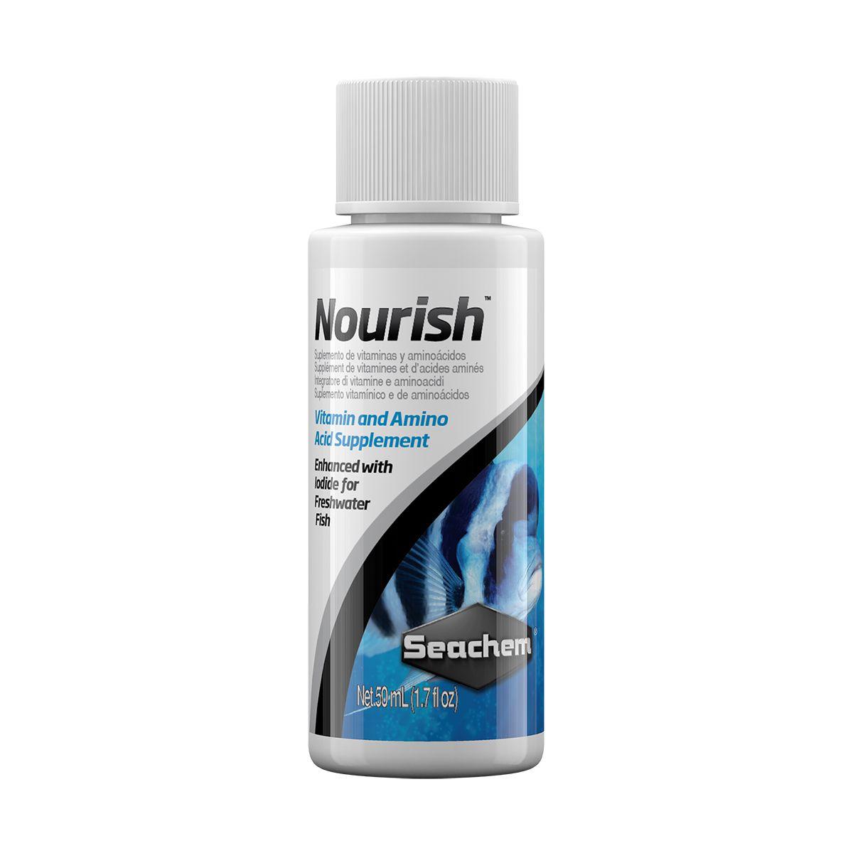 Vitamina para Peixes SEACHEM NOURISH 50ML