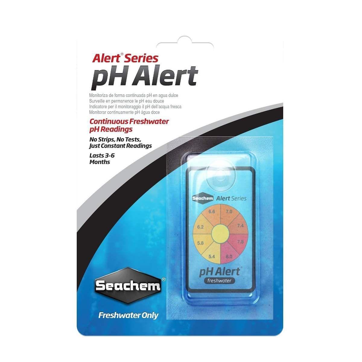 Seachem Ph Alert Teste Fixo de Ph Aquário para Água Doce