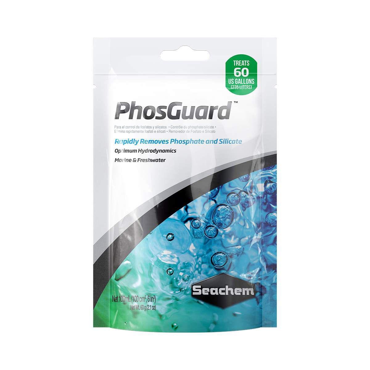 Seachem Phosguard 100ml Removedor de Fosfato para Aquários