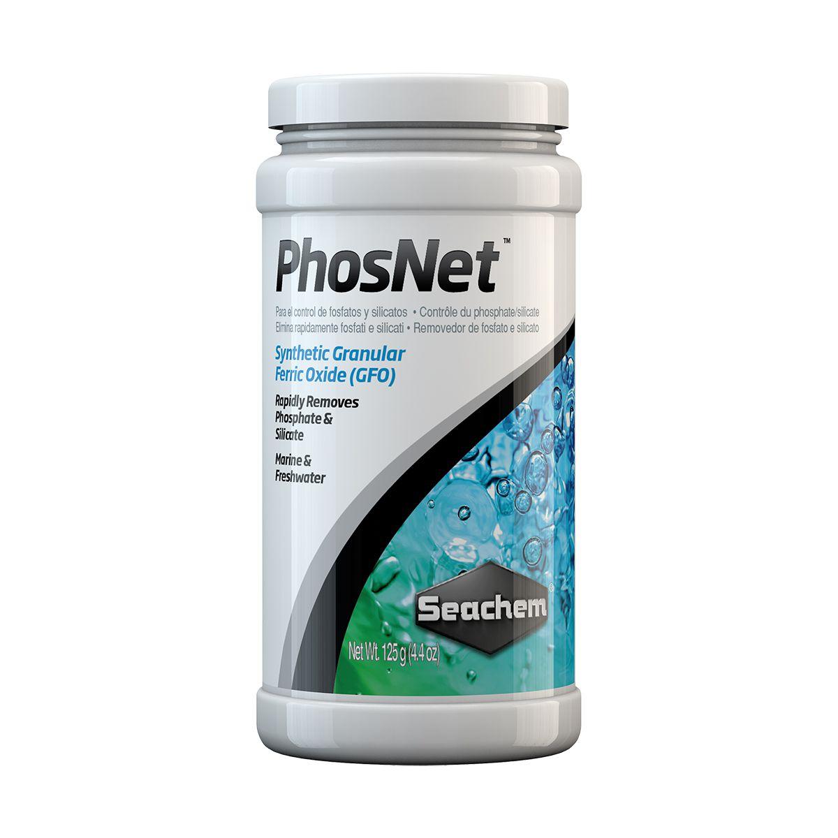 Seachem Phosnet 125g Remove Fosfato e Silicato em Aquários
