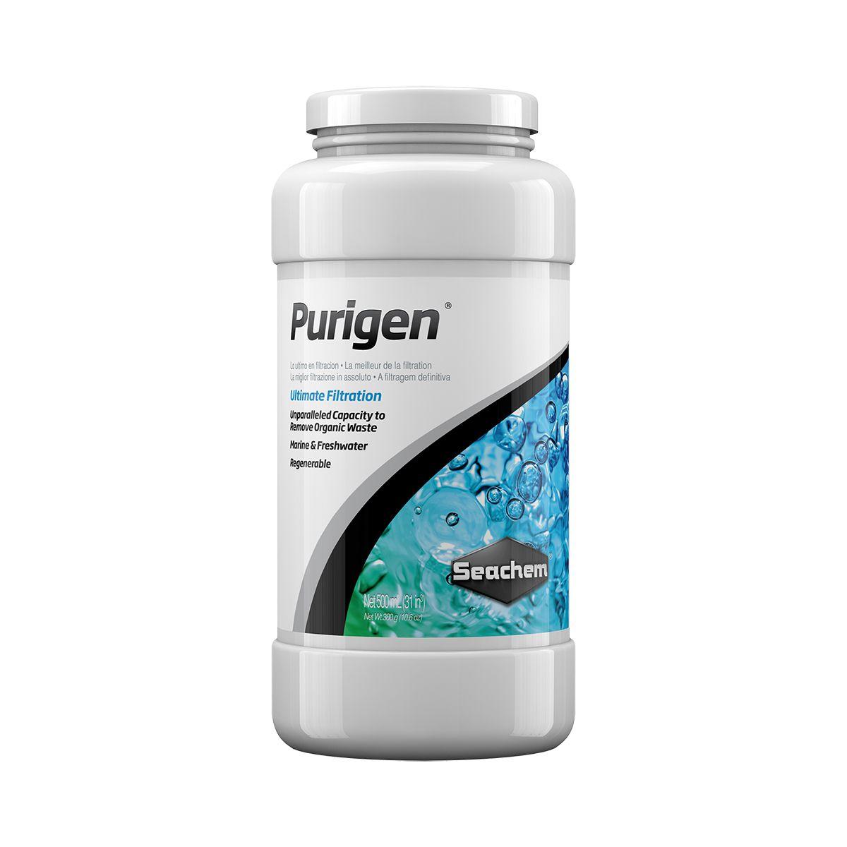 Removedor de Amônia, Nitrito e Nitrato SEACHEM PURIGEN 500ml