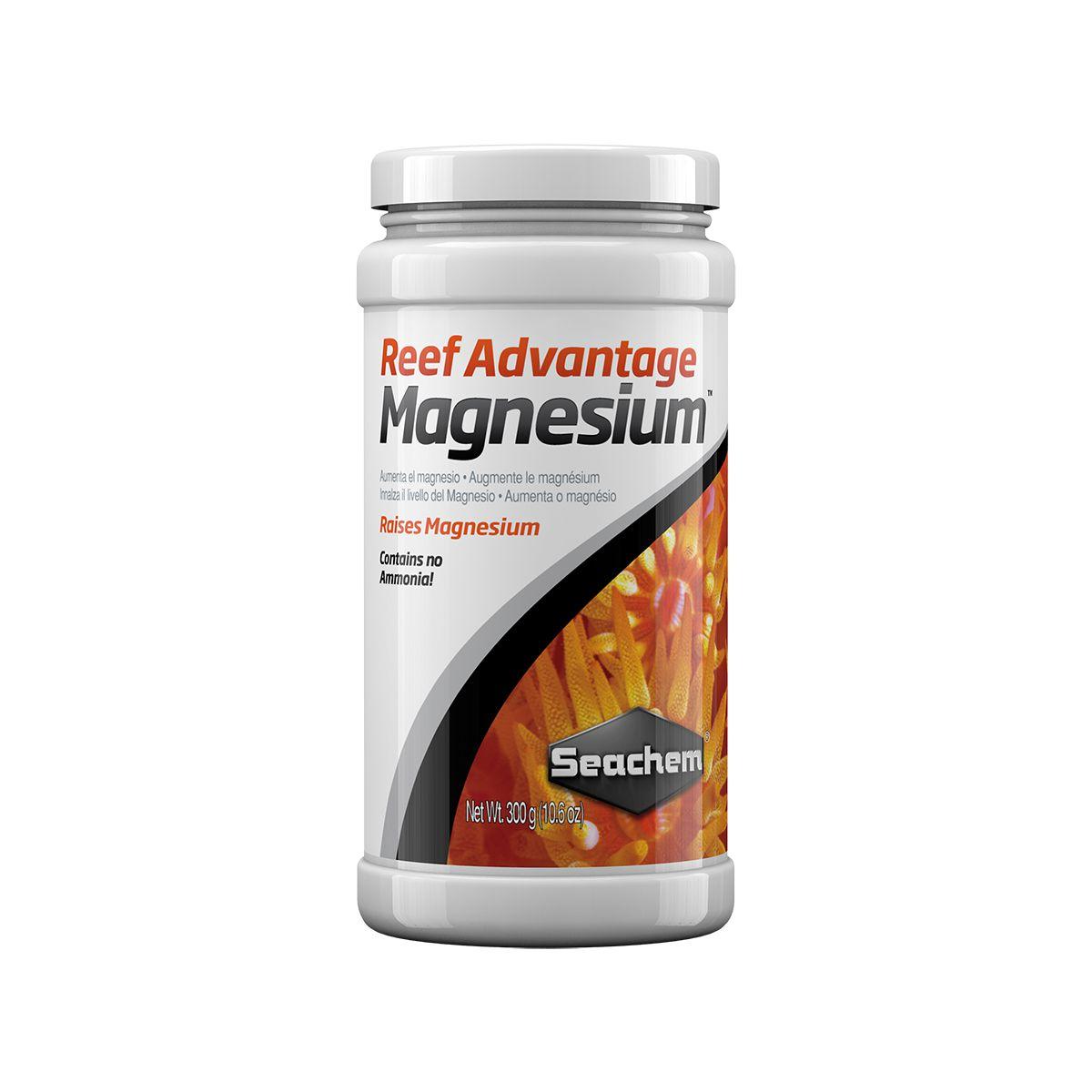 Seachem Reef Advantage Magnesium 300g Restaura e Mantém Mg