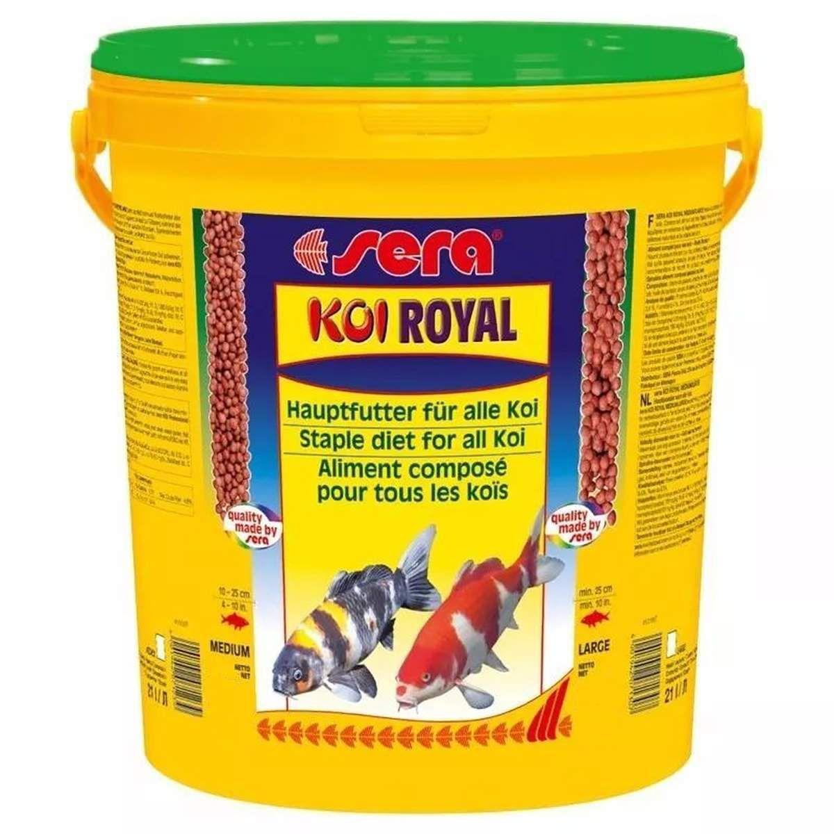 Sera Koi Royal Large 4,15kg - Alimento Base Para Carpas Koi