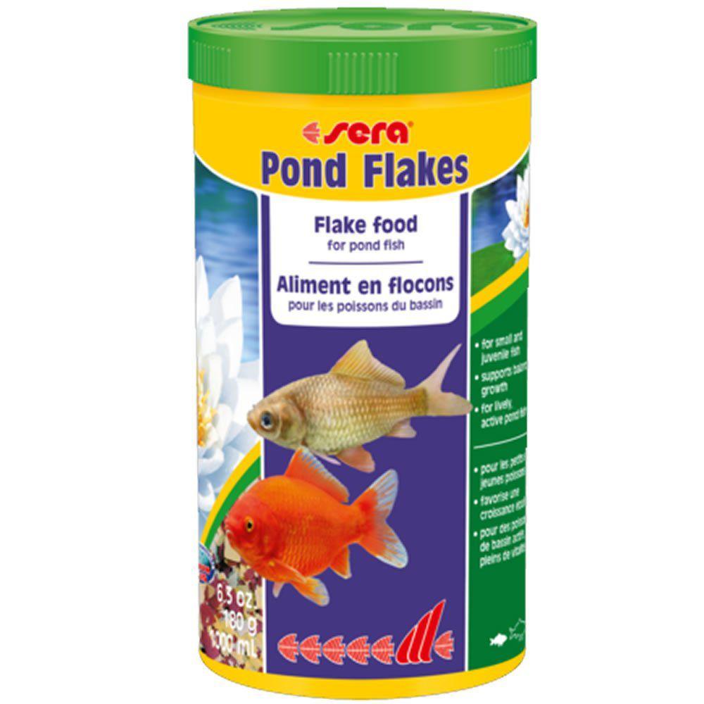 Sera Pond Flakes 180g - Ração para Todos os peixes de Lago