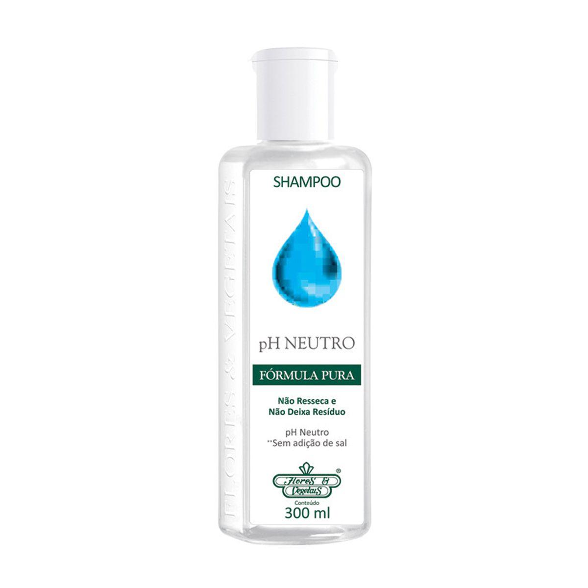 Shampoo Flores e Vegetais pH Neutro 310ml