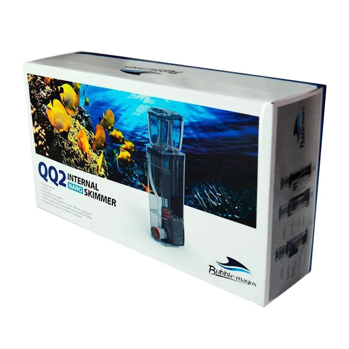 Skimmer Bubble Magus Qq2 P/ Aquários 100lts Bivolt Dsp600