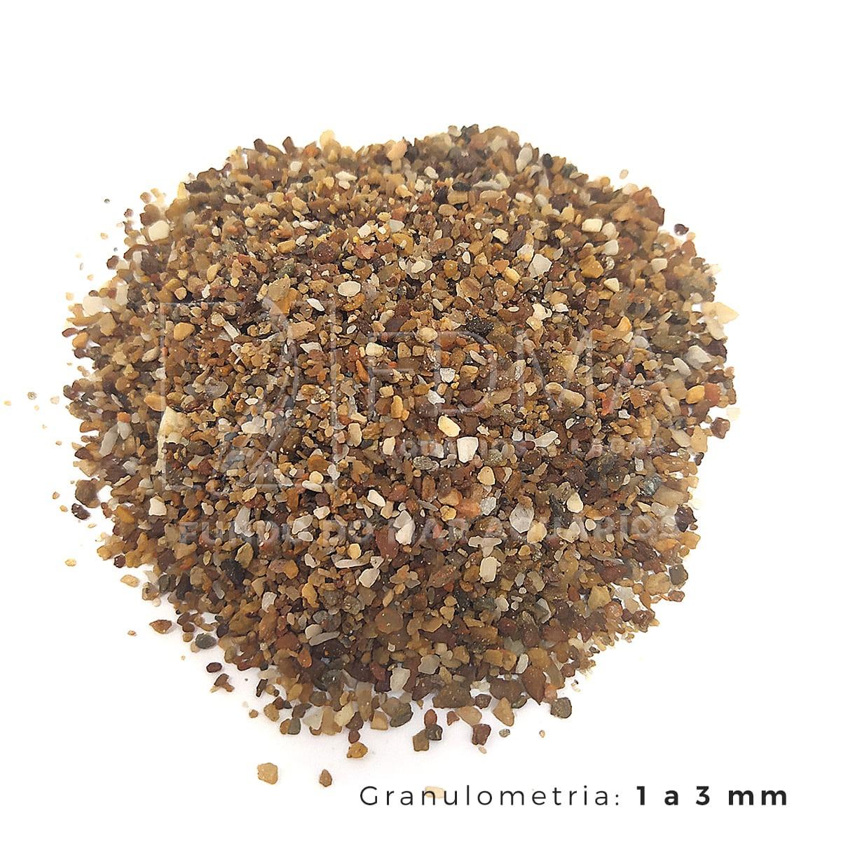 Substrato Cascalho Mineiro para Aquários e Jardins N°0 3kg