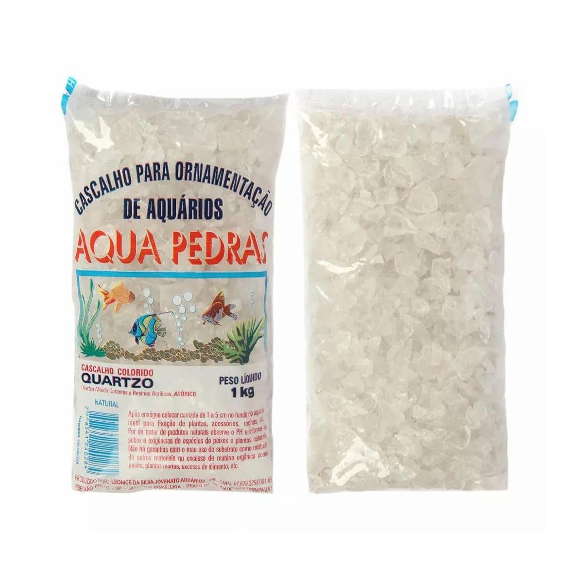 Substrato Cristal Natural para Aquários e Jardins N°2 - 1kg