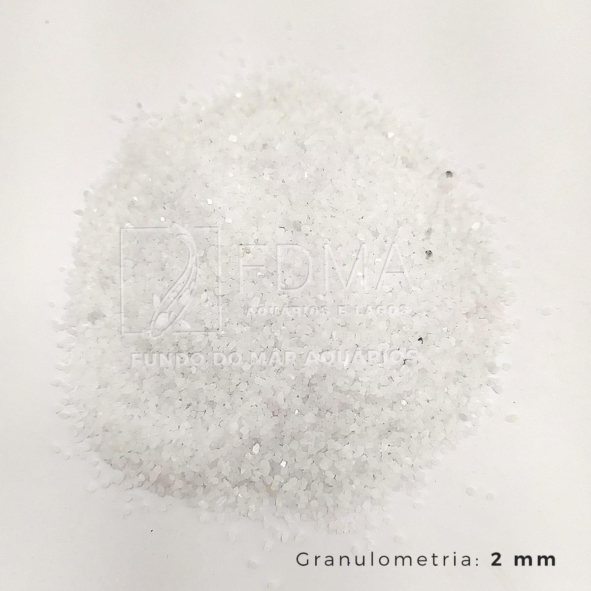 Substrato Dolomita p/ Aquários e Jardins Decoração N°0 25kg