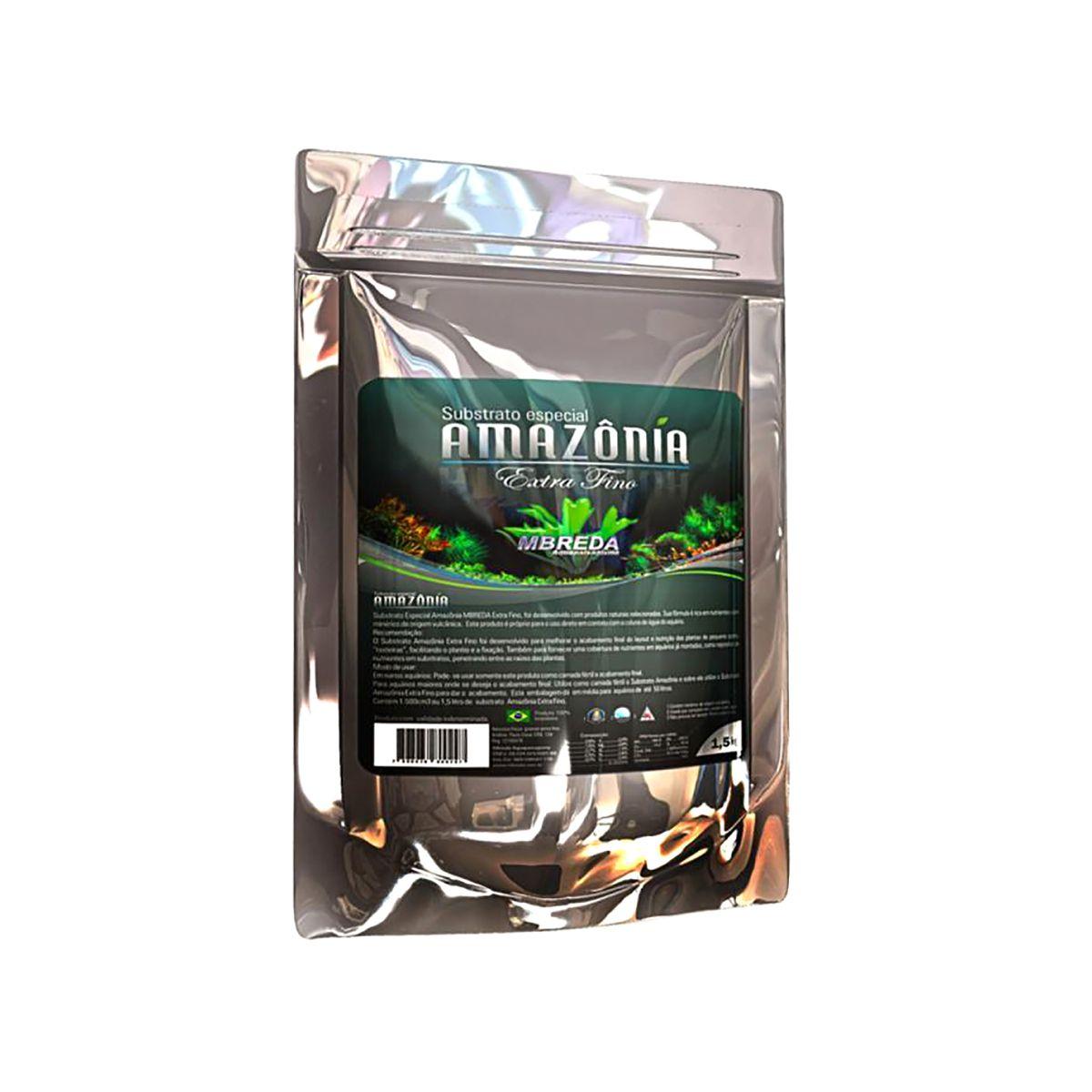 Substrato Fértil Extra Fino Amazônia Mbreda 1,5 Kg