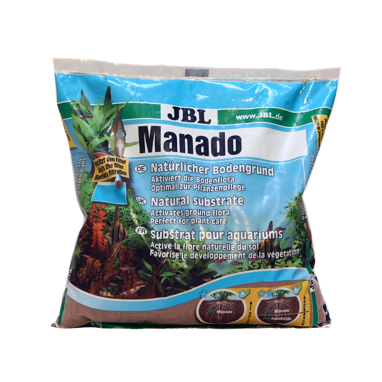 Substrato Fértil Jbl Manado 25l P Aquario Plantado