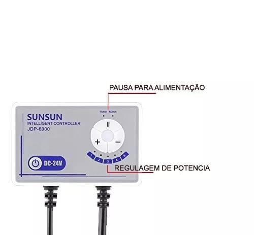SUNSUN BOMBA DC JDP-6000 3600 A 6000L/H