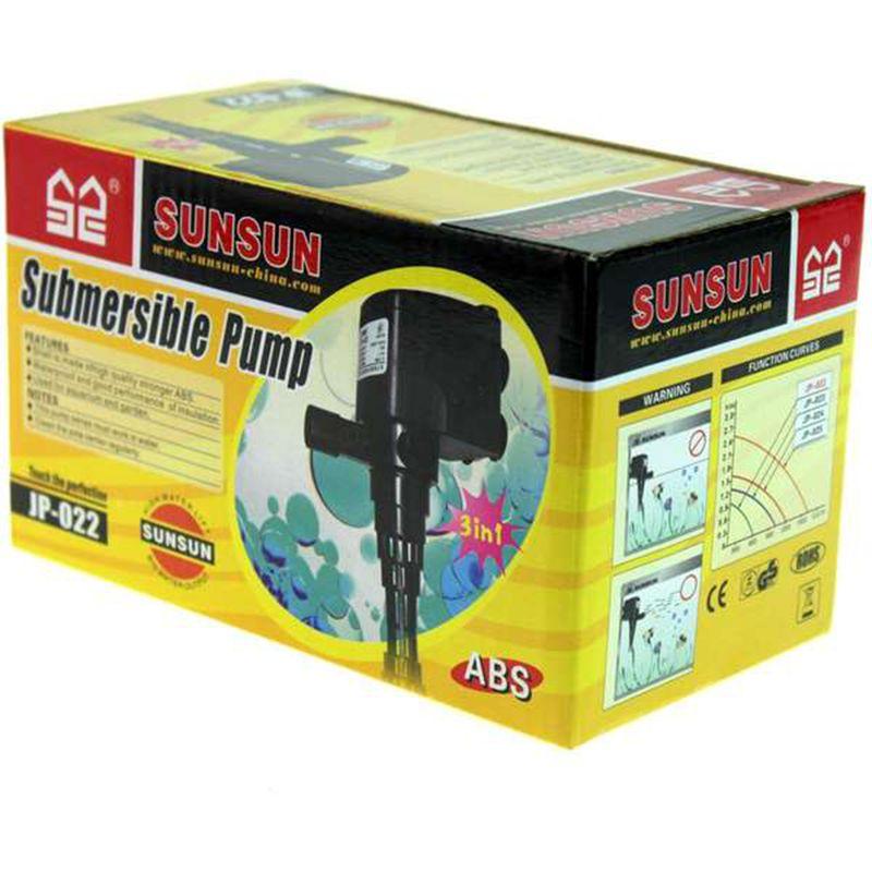 SUNSUN BOMBA SUBMERSA JP-022 - 600 L/H - 127v