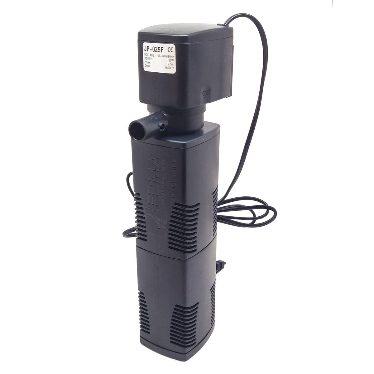 Filtro Interno para Aquários Sunsun Jp-025f - 1600l/h