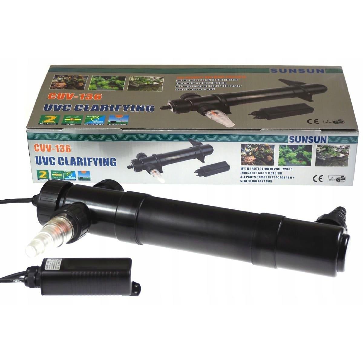 Sunsun Filtro Uv 36w Cuv-136 4500 L/h Aquarios Lagos