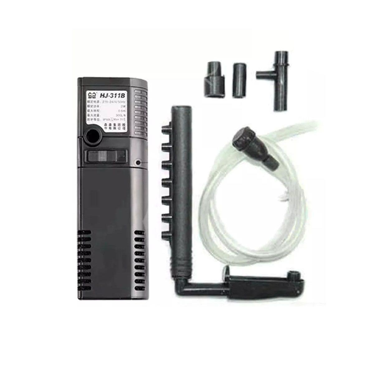 Filtro Interno Sunsun HJ 311B 300L/H - Pequenos Aquários