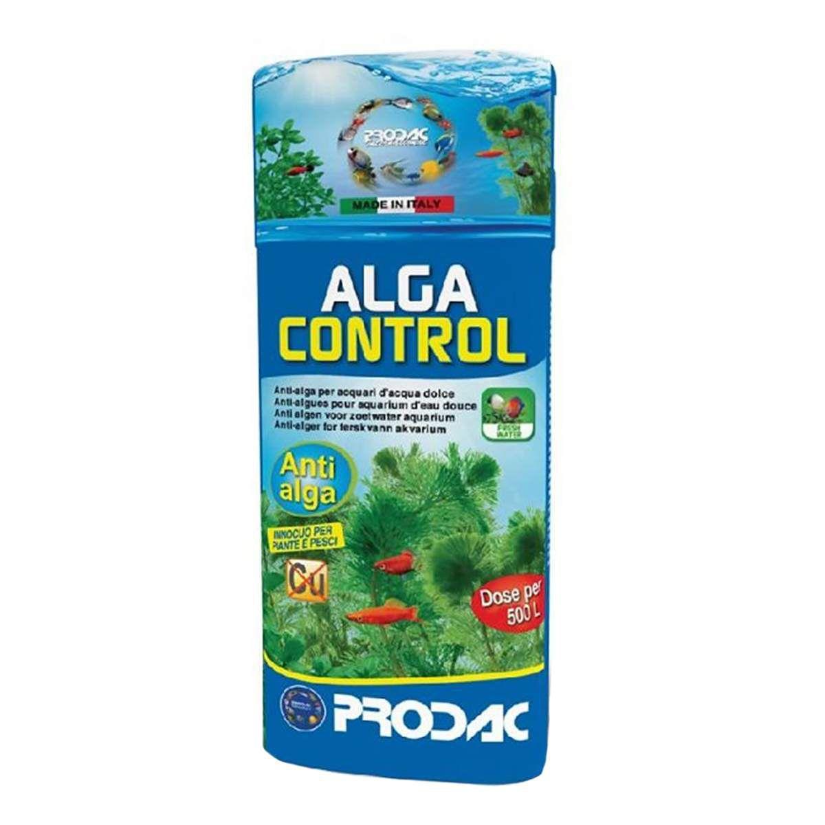 Prodac Alga Control 100ml Condicionador Antialgas Aquários