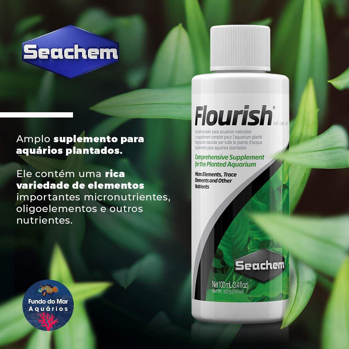 Suplemento para Aquários Plantados SEACHEM FLOURISH 50ML