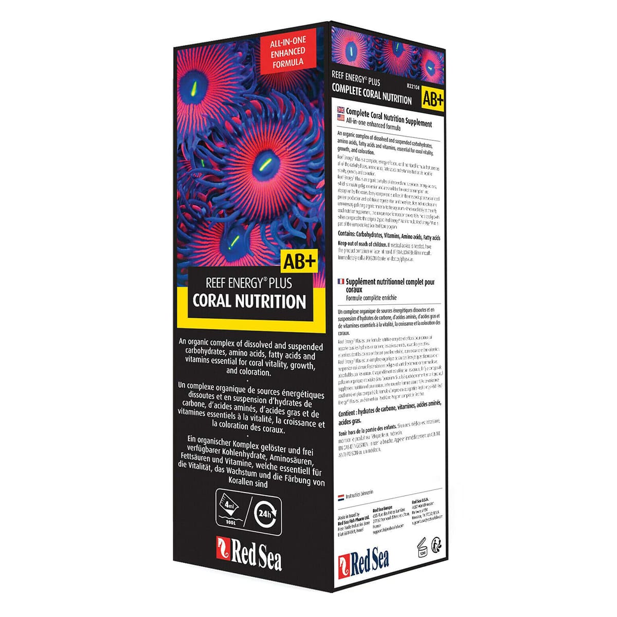 Red Sea Reef Energy Coral Nutrition AB+ 500ml Super Corais