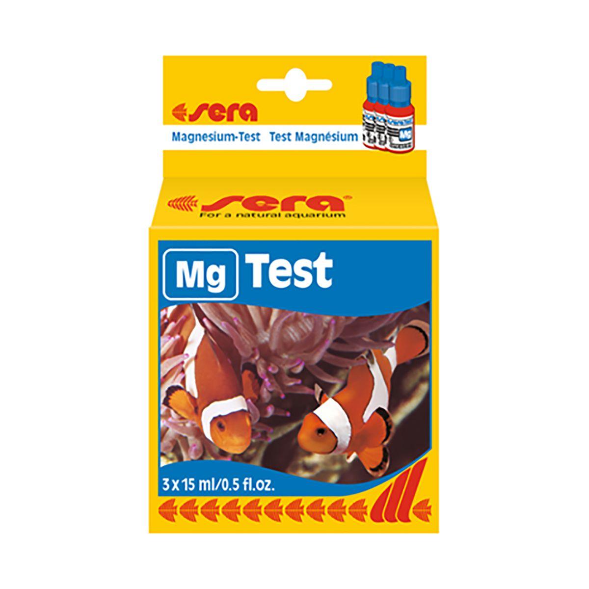 Teste de Magnésio Sera 15ml para Aquários Marinhos