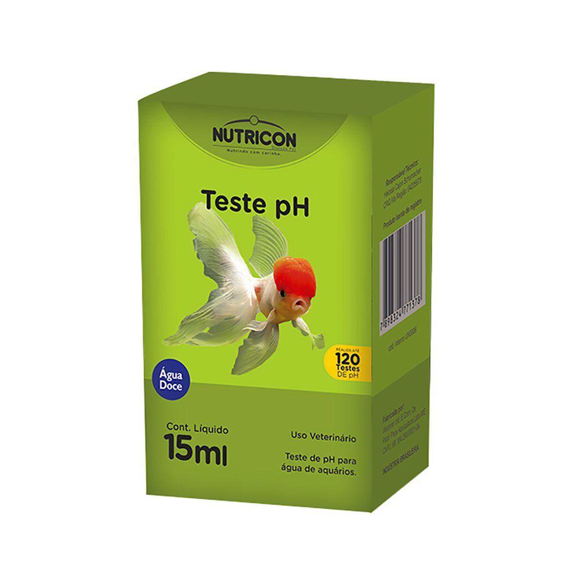 Teste de pH para Aquários Nutricon - 15mn