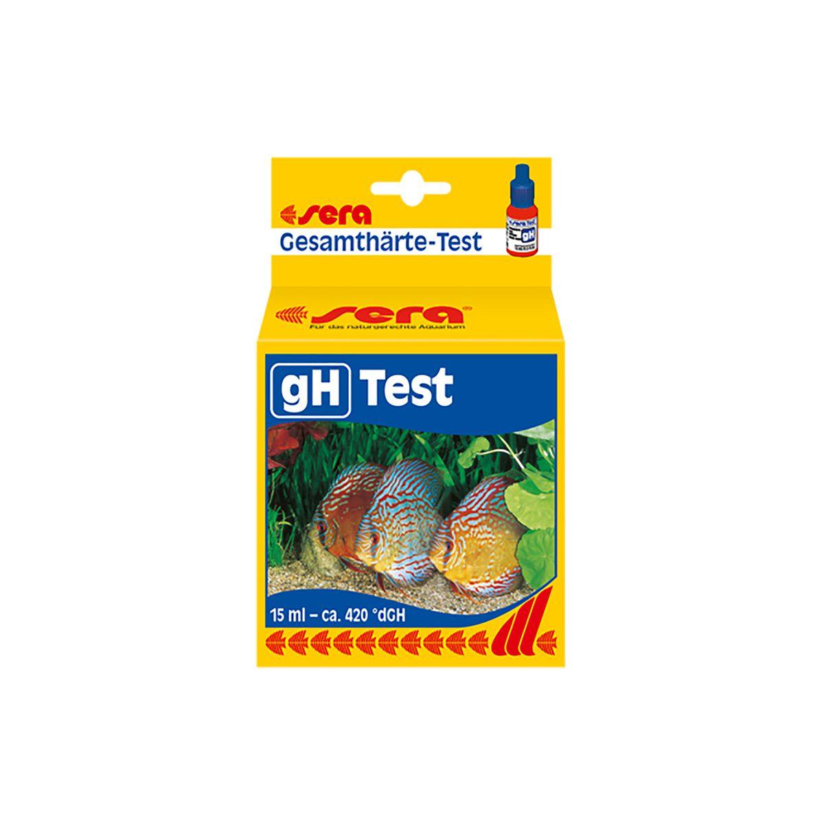 Teste para Aquários SERA GH - 15ml