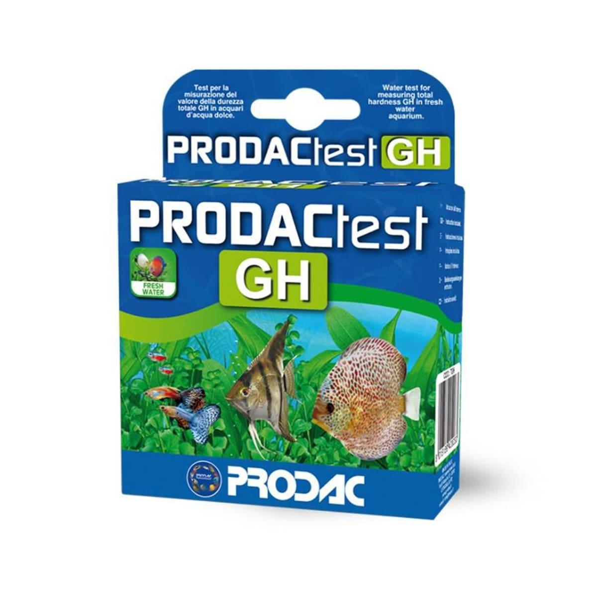 Teste Prodac GH Dureza Total para Aquários de Água Doce
