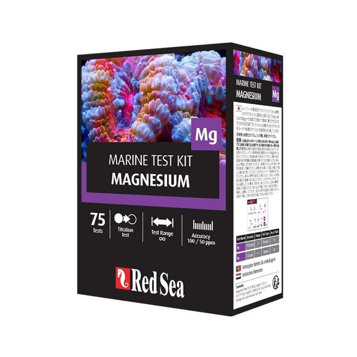 Teste Red Sea Marine Magnesium Mg