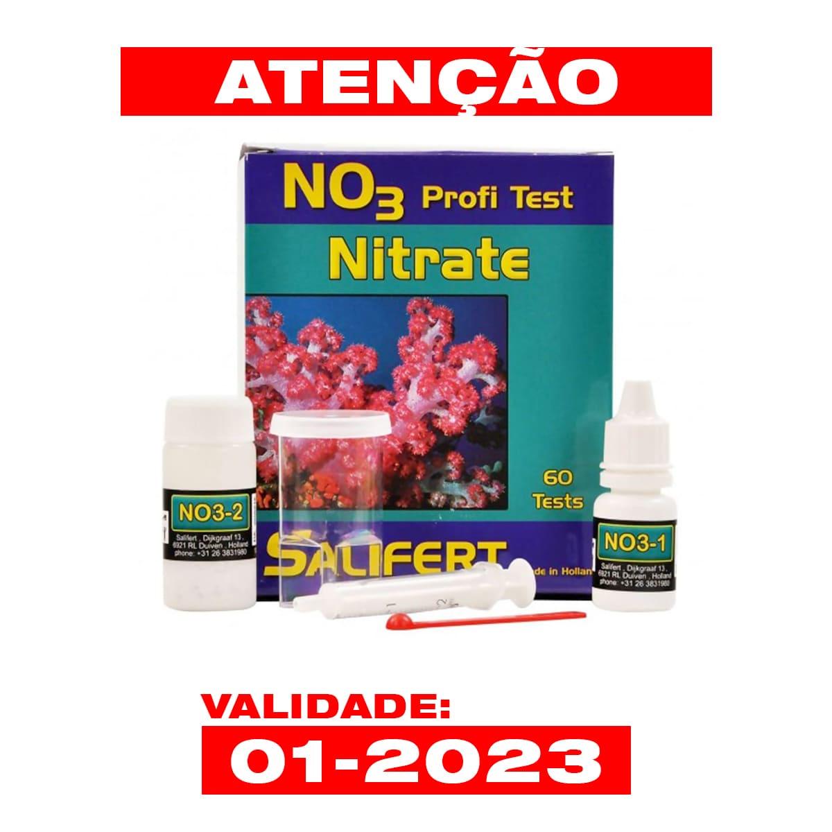 Teste Salifert Aquários Marinhos No3 Nitrate Faz 60 Testes