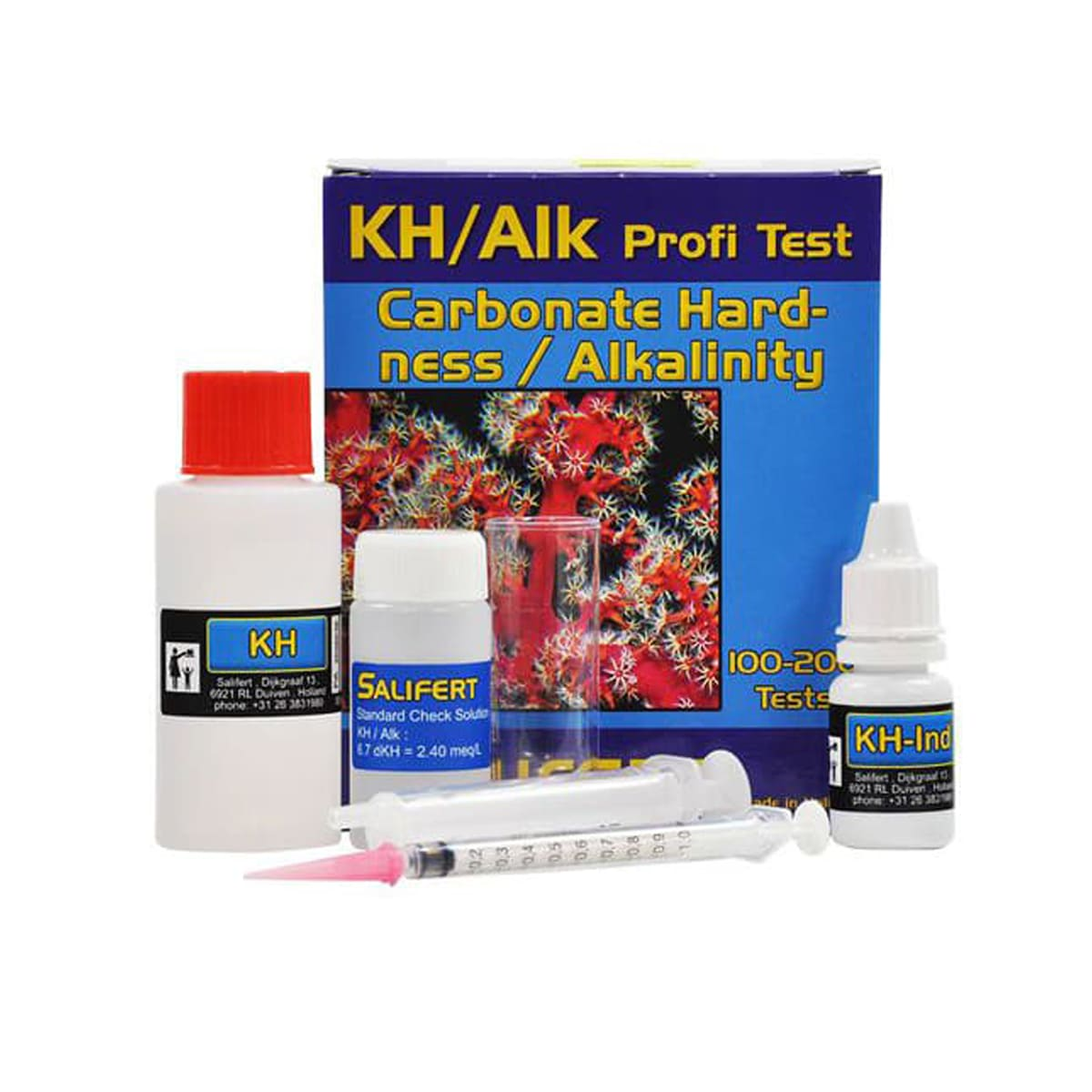 Teste Salifert Kh Alkalinade para Aquários Marinhos
