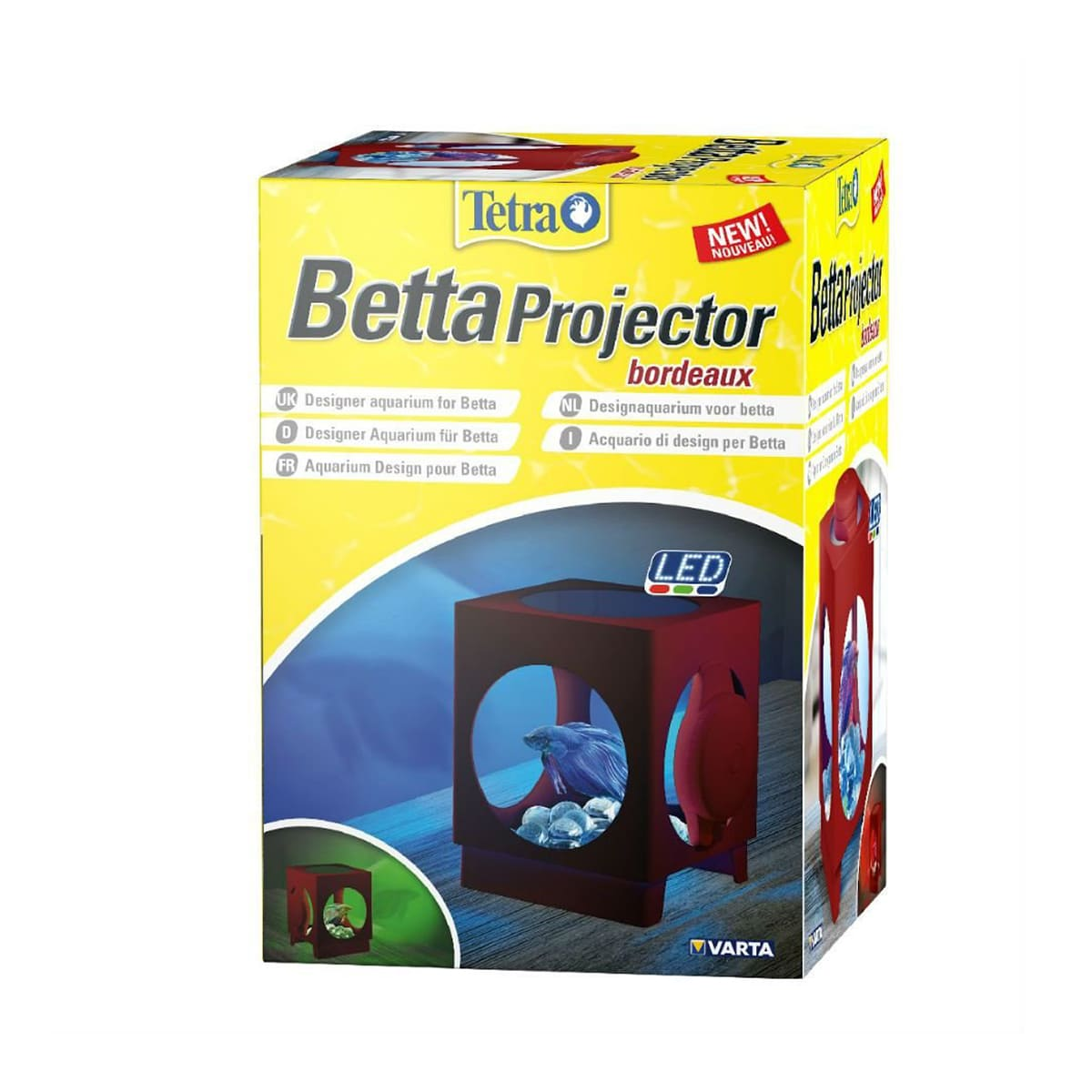 Tetra Betta Projector Beteira com Led 1,8 litros