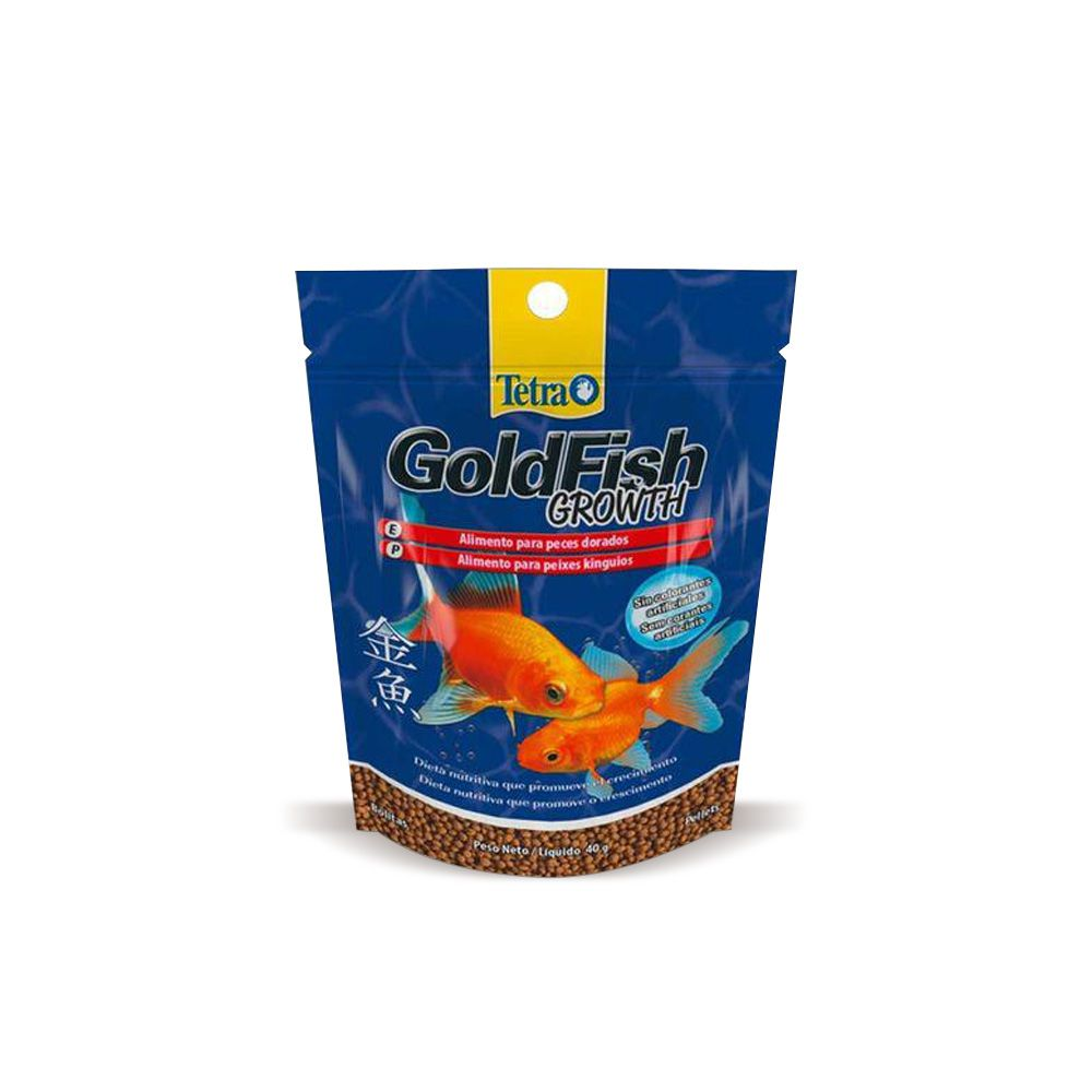 Tetra Goldfish Growth Pellets ML  40g