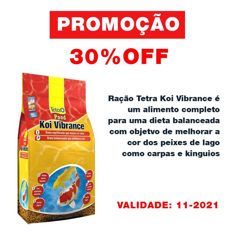 Tetra Pond Koi Vibrance Sticks 2,35kg para Peixes de Lago