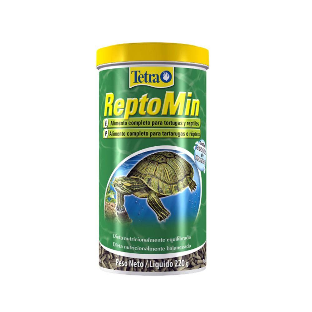 Tetra Reptomin Sticks 220g Ração para Tartarugas e Répteis