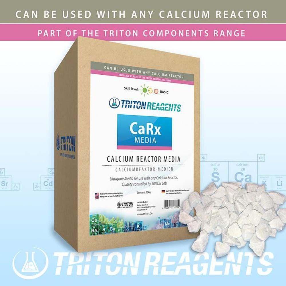 Mídia para Reator de Cálcio Triton CARX 1kg - A Granel